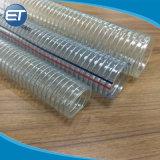 産業PVCばねの多彩なライト級選手が付いているワイヤーによって補強されるホースの管