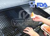 BBQ antiaderante della superficie di vendita calda del Amazon che cuoce stuoia alla griglia con approvazione della FDA