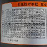 Los servicios móviles Coche 12V 24V de la manguera hidráulica Máquina engastado
