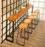 Taburetes de barra amortiguados los muebles comerciales más nuevos de metal del alambre de la barra