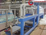 Réduction automatique de type linéaire Film bouteille Machine d'enrubannage