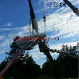 Turbina di vento controllata del passo 60kw con 65rpm Pma sul sistema di griglia