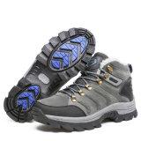 毛皮が付いている冷たい鋼鉄底安全靴を保護しなさい