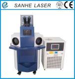 Soldadora de laser del punto de la maquinaria del moldeado del oro para el soldador de la joyería