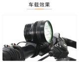 8X 크리 사람 Xm-L T6 LED 9000lm 순환 자전거 자전거 정면 빛