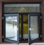 Het aangepaste Witte Openslaand raam van het Aluminium van de Kleur (acw-059)