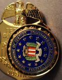 Nombre de la policía de metal personalizados de la Escuela Militar de botón Pin como