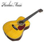 Música Hanhai / Guitarra acústica amarela de 41 '(00028)