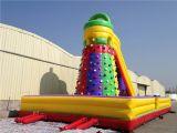 2016 heißes Sport Rock Climbing Wall Inflatable Slide für Sale