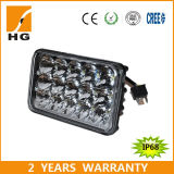 45W alto 4 x 6 pollici -/Low Beam LED Headlight