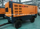 Компрессор воздуха портативного винта тепловозный работаемый в холодном плате с двигателем дизеля 194kw