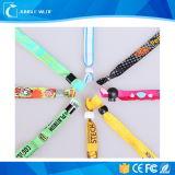 Custom вышитый браслеты с пластмассовыми