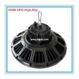 Indicatore luminoso della baia del UFO del driver 240W LED dell'UL Meanwell di Philips 3030 alto