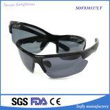 Neuer freigegebener Form-Schwarz-Sport polarisierte Sonnenbrillen