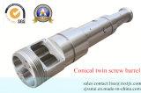 WPC/PVC/PE Extruder-konischer Doppelschrauben-Zylinder