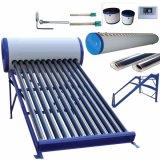 Non-Pressurized真空管のソーラーコレクタSolar Energyシステム熱湯タンク太陽給湯装置