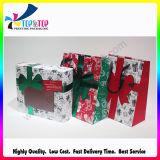 Cute Design Printing Christmas Gift Boîte à papier fabriquée à la main