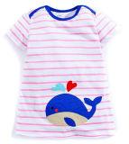 t-셔츠 복장을%s 아이들 의복에 있는 형식 아기 유아 옷
