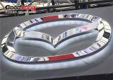 Знак тавра автомобиля логоса крома ABS загоранный СИД автоматический
