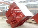 El óxido de aluminio revestido de cerámica de equipos para minería