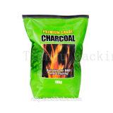 El carbón de leña una impresión personalizada de embalaje bolsa de papel Kraft