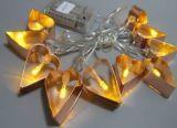 Новый свет с украшением сердца, свет шнура 10lt СИД рождества