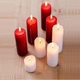 Geläufige rote Stock-Kerze für Dekoration