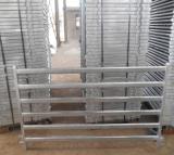 옥외 이동할 수 있는 직류 전기를 통한 임시 농장 담