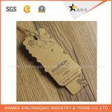 Бирки Hang бумаги Kraft изготовленный на заказ фабрики сразу с печатание тавра