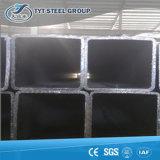 Tubo de acero de acero rectangular galvanizado Caliente-Sumergido del tubo de acero de carbón de la bobina