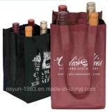 Sacco non tessuto non tessuto della bottiglia del sacco della birra del sacco del vino di disegno del cliente (M.Y M-114)