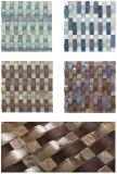Azulejo de mosaico cristalino de la decoración de oro del color Ma-GS1028