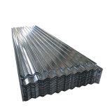 24 Jauge ondulé galvanisé recouvert de zinc tôle de toit