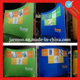 Будочки торговой выставки зеленой голубой кривого творческие