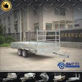 Het zware Rijden  De lage Aanhangwagen van de Vrachtwagen van het Bed voor LandbouwAanhangwagen