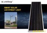 20W 5 년 보장을%s 가진 지능적인 통제 LED 태양 가로등