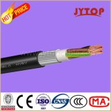 Yvz2V (NYRY) del cable de cobre, 0,6 / 1 kV con aislamiento de PVC Ronda de alambre de acero blindadas, cables multipolares con conductor de cobre