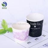 Tazas de papel modificadas para requisitos particulares disponibles de un sólo recinto de la leche de la bebida del té del café