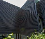 예술적인 목제 플라스틱 합성 건축재료 WPC 벽면