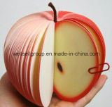 Frutas em forma de memorando de bolso / Office Sticky Note Pad (sanduíche de pêra de pêssego de laranja de maçã)