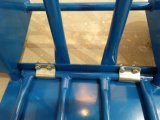 Chariot à main en métal de mémoire d'entrepôt avec des roues