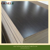 MDF melamina colores de grano de madera negra con precios baratos en China