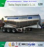 Aleación de aluminio ligeros semi remolque cisterna de cemento