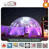 Belle tente en aluminium de construction de tente de demi de sphère de bâti pour le festival