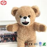 Urso bonito enchido da peluche do brinquedo da qualidade do OEM do projeto luxuoso novo