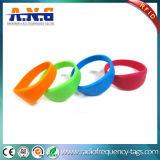 Wristband del silicone del braccialetto del Fudan 1k RFID