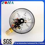 indicateurs de pression électriques commerciaux de contact de diamètre de 100mm avec magnétique