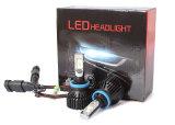 Selbst-heller neuer T8 LED Scheinwerfer H11 6500K des LED-Scheinwerfer-8000lm Philips Zes des Auto-LED