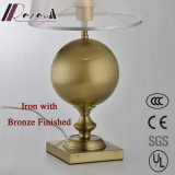 Lâmina de mesa de ferro decorativa americana com Translucence Guaze Shade
