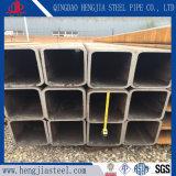 長方形鋼管を溶接するERWの黒いカーボン